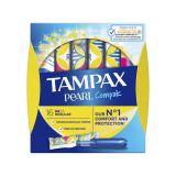 TAMPAX Pearl Compak Regular tampony s aplikátorem 16 ks