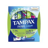 TAMPAX Pearl Compak Super tampóny Aplikátor 16 ks