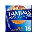 TAMPAX Pearl Compak Super Plus tampony s aplikátorem16 ks