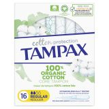 TAMPAX Cotton Protection Regular tampony s aplikátorem 16 ks