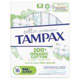 TAMPAX Cotton Protection Super tampóny s aplikátorom 16 ks