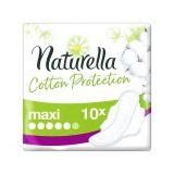 NATURELLA Cotton Protection Ultra Maxi vložky s krídelkami 10 ks