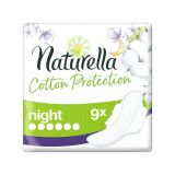 NATURELLA Cotton Protection Ultra Night vložky s krídelkami 9 ks