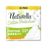 NATURELLA Cotton Protection Ultra Normal vložky s krídelkami 22 ks
