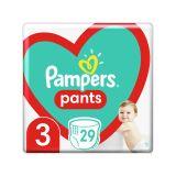 PAMPERS Pants 3 (6-11 kg) 29 ks Carry pack - plienkové nohavičky