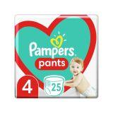 PAMPERS Pants 4 (9-15 kg) 25 ks Carry pack - plenkové kalhotky
