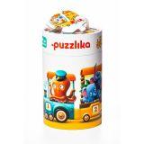 PUZZLIKA Vlak 94 cm - naučné puzzle 20 dílků