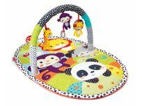 INFANTINO Hrací deka s hrazdou ZOO