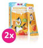 2x HiPP BIO Rampouch Broskev - Mango, ovocné pyré ke zmražení (5x30 ml)