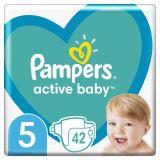 PAMPERS Active Baby jednorázové pleny vel. 5, 42 ks, 11-16 kg