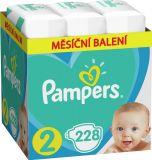 PAMPERS Active Baby jednorazové plienky veľ. 2, 228 ks, 4-8 kg