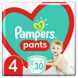 PAMPERS Plenkové kalhotky Pants vel. 4, 30 ks, 9-15 kg