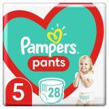 PAMPERS Pants plienkové nohavičky veľ. 5, 28 ks, 12-17 kg