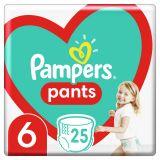 PAMPERS Pants plienkové nohavičky veľ. 6, 25 ks, 15 kg+