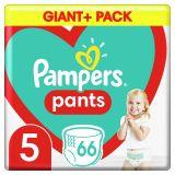 PAMPERS Pants plienkové nohavičky veľ. 5, 66 ks, 12-17 kg