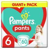 PAMPERS Pants plienkové nohavičky veľ. 6, 60 ks, 15 kg+