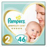 PAMPERS Premium Care jednorazové plienky veľ. 2, 46 ks, 4-8 kg