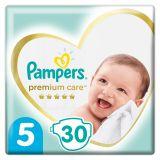 PAMPERS Premium Care jednorázové pleny, vel. 5, 30 ks, 11-16 kg