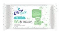 LINTEO Vlhčené ubrousky Baby 100% Biodagradable