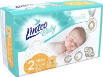 LINTEO BABY Plenky Baby Prémium MINI (3-6 kg) 34 ks