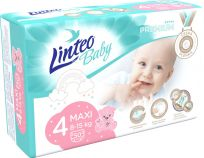 LINTEO BABY Plenky Baby Prémium MAXI (8-15 kg) 50 ks