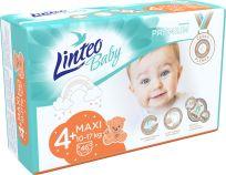 LINTEO BABY Plenky Baby Prémium MAXI+ (10-17 kg) 46 ks