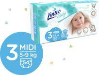 LINTEO BABY Plenky Baby Prémium MIDI (5-9 kg) 216 ks