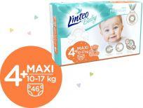 LINTEO BABY Plenky Baby Prémium MAXI+ (10-17 kg) 184 ks