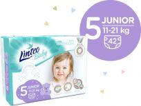 LINTEO BABY Plenky Baby Prémium JUNIOR (11-21 kg) 168 ks