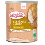 BABYBIO Nemléčná vícezrnná obilná kaše 220 g