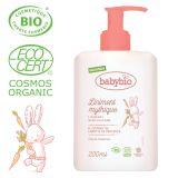 BABYBIO Přebalovací BIO krém pro miminka od narození 200 ml