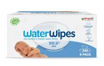 9x WATERWIPES 100% BIO odbúrateľné obrúsky 60ks