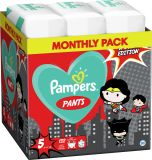 2x PAMPERS Pants plienkové nohavičky veľ. 5, 66 ks, 12-17 kg Warner Bros LTD