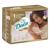 DADA Jednorázové pleny Extra Care vel. 1 (2-5 kg), 23 ks