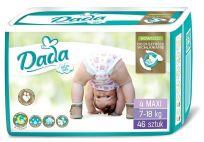 DADA Jednorázové pleny Extra Soft Maxi vel. 4 (7-18 kg), 46 ks