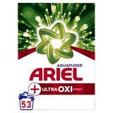 ARIEL Prášek na praní AquaPuder Ultra OXI effect, 53 praní