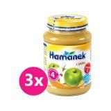 3x HAMÁNEK Jablko 190 g