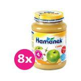 8x HAMÁNEK Jablko 190 g