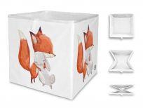 MR. LITTLE FOX Dětská úložná krabice Little friendship