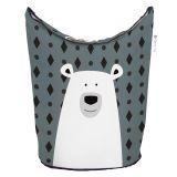 MR. LITTLE FOX Dětský koš na prádlo a hračky 60l Polar bear