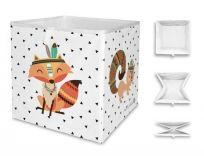 MR. LITTLE FOX Dětská úložná krabice Indian fox