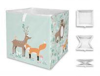 MR. LITTLE FOX Dětská úložná krabice Close friends