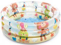 INTEX Bazén detský medvedík nafukovací 3 komory 61x22 cm (1-3 roky)