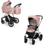 BABY DESIGN Kočík kombinovaný Bueno 208 Pink