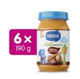 6x NESTLÉ Zelenina s telecím masem 190 g