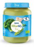 NESTLÉ NaturNes BIO Brokolice s hráškem a krůtím masem 190 g