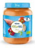 NESTLÉ NaturNes BIO Sladké zemiaky s paprikou, rajcinami a kuracím mäsom 190 g