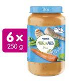 6x NESTLÉ NaturNes BIO Pastinák, hrášek a mrkev s rýží a kuřecím masem 250 g