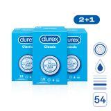 DUREX Classic pack 54 ks (2+1)