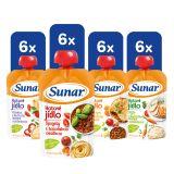 SUNAR Příkrm hotové jídlo XXL mix 24x120 g